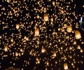 floating lanterns yeepeng or loi krathong festival at chiang mai thailand_Bv0lRgldhMe