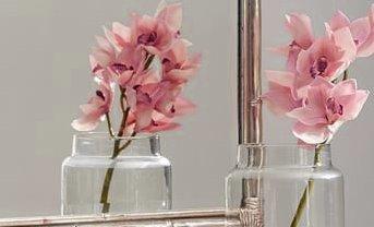 bamboo silver gilt wall mirror o